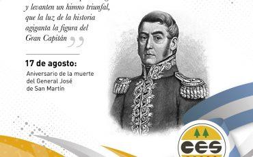 Aniversario General José de San Martín