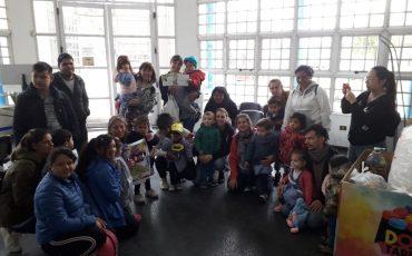 Nos visitaron alumnos y docentes del jardín N* 911