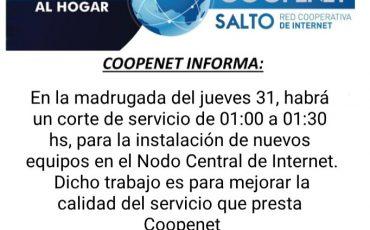 Coopenet informa